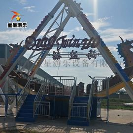 商丘童星厂家 供应游乐园大型游乐设备 海盗船