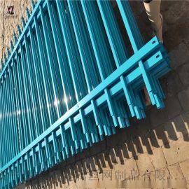 穿插锌钢护栏 冲孔拼接围墙护栏 金属院墙锌钢护栏