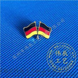 德国国旗徽章定制,国旗徽标制作,刺马针胸徽生产