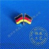 德國國旗徽章定製,國旗徽標製作,刺馬針胸徽生產
