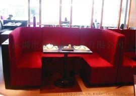 酒店沙发图片KTV沙发订做异形卡座U型沙发厂家直销