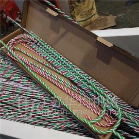 圣诞拐杖爵士舞道具旋转生产线机器设备