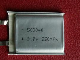 聚合物电芯(503040-550MAH)