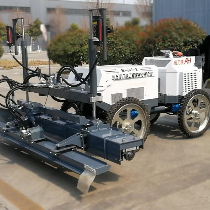 混凝土自动整平机 混凝土道路摊铺机两轮