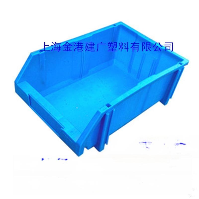 厂家直销 A5#410*271*172货架塑料整理箱 立柱镜片斜口组合零件