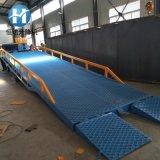定製手動液壓登車橋 移動式登車橋 物流集裝箱裝卸貨平臺