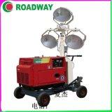 路得威移动照明车1000*3KW移动照明车厂家直销 RWZM22C手推式照明车厂家主打热卖照明车