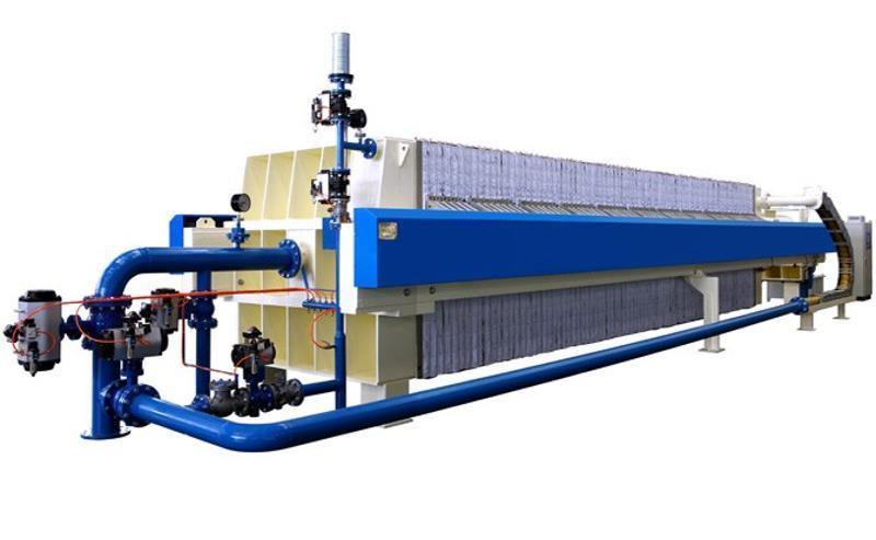 景津明流自动翻板厢式压滤机 隔膜压滤机