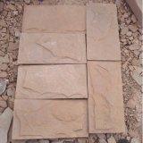 太行山裏的石板廠家直銷高粱紅文化石 粉砂岩文化石牆面磚 文化磚