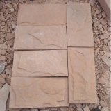 太行山里的石板厂家直销高粱红文化石 粉砂岩文化石墙面砖 文化砖