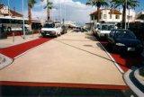 高承載透水混凝土上海桓石彩色 透水地坪透水混凝土透水地坪