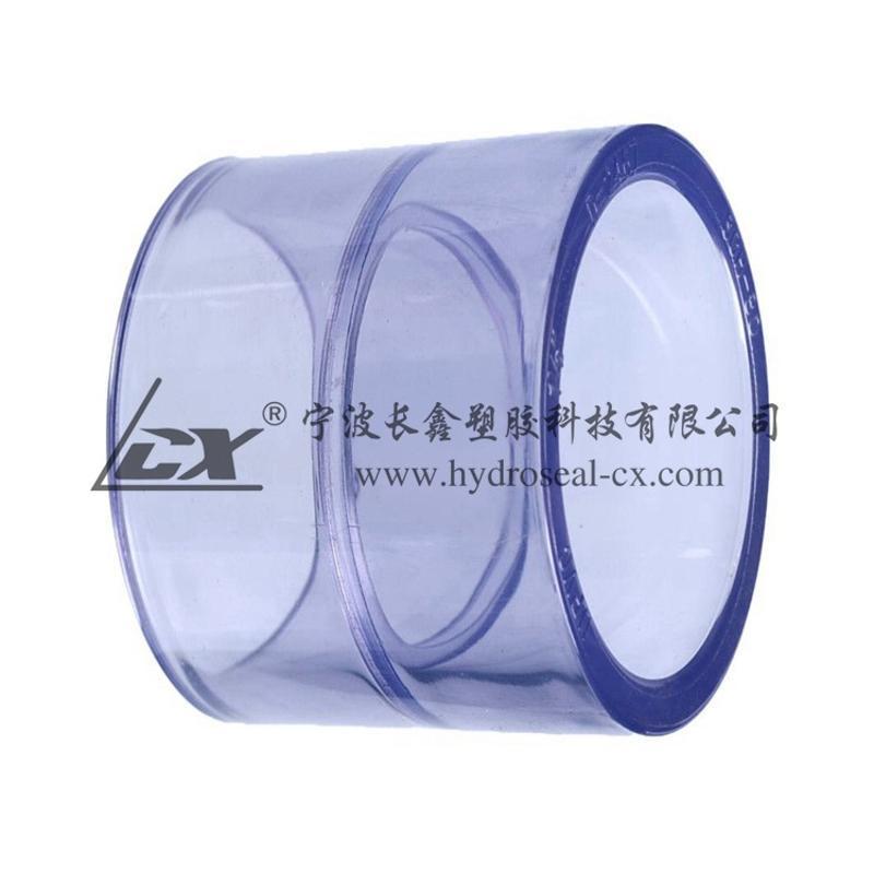 PVC透明直接,UPVC透明直通,透明PVC直接,UPVC美标透明直接