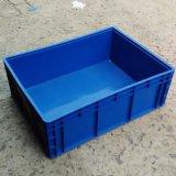 供应 塑料周转箱800*600*280 上海塑料箱 全新料仓储周转箱