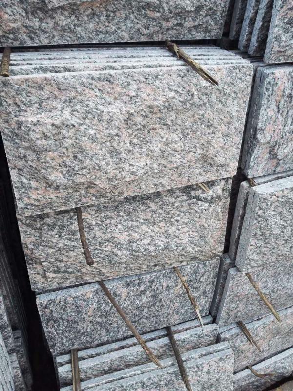 河北蘑菇石廠家現貨供應白色冰裂紋規格尺寸定製