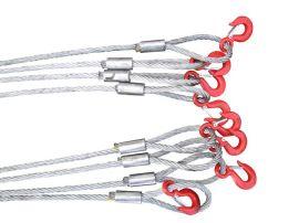 压制钢丝绳索具