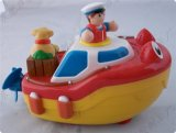 浮水车玩具 儿童玩具车 软胶小汽车-滑行玩具车 塑胶搪胶车
