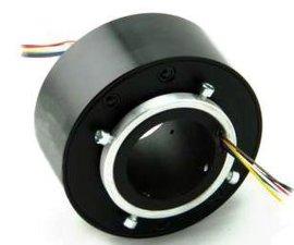 过孔式导电滑环--离心机滑环 可定制 高转速 高防护 高速空心轴滑环