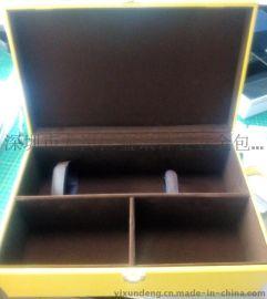 益讯包装厂    单双支  盒 PU皮质   盒礼品包装盒   盒木制 定做