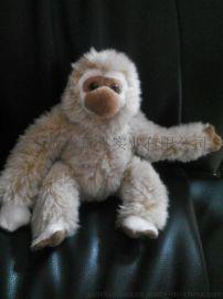 2016年毛绒猴子公仔定制 毛绒猴子礼品玩偶吉祥物定做