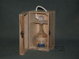 白酒木盒BL-003专业订做各种规格的白酒、红酒木盒木质红酒展架木质茶叶盒