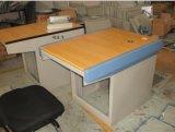 立騰機櫃1位包邊平面操作檯(加木面)