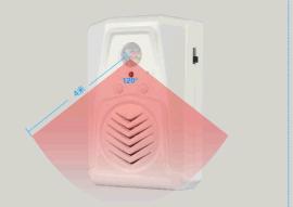 WTMS语音导购机感应门铃广告语音贴