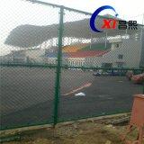 供应包塑体育场护栏网球场围栏网——昌熙网业