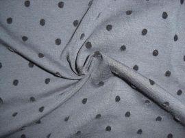 水洗不掉毛植绒纯棉氨纶汗布