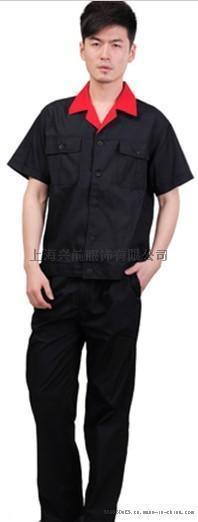 上海興前服飾【廠家直銷】夏季工作服定做/春秋工作服定做
