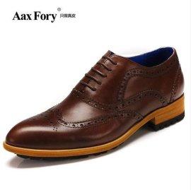 商务正装皮鞋 ,头层牛皮男鞋 ,单鞋子