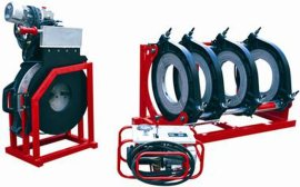 PE塑料管液压热熔焊机 (SHBD450-280)