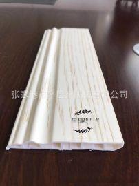 PVC集成墙板生产线SZJ65/132生产PVC木塑墙板生产线
