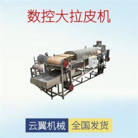 多功能燃气加热凉皮机 电加热蒸汽粉皮机不锈钢 红薯粉皮机现货