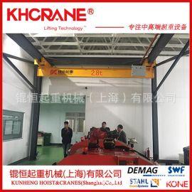 LX系列2吨欧式悬挂起重机科尼2t电动葫芦低净空悬挂行车