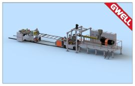 PET/PL  材排气式挤出生产线(免结晶干燥)