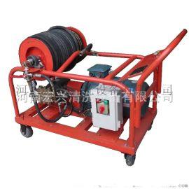 本田汽油机驱动 25马力管道高压清洗机 管道疏通机