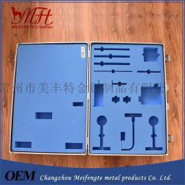 医疗器械仪器箱  常州武进美丰特箱包厂提供 EVA防震垫铝箱