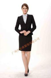 女西服套装修身版型 **次时尚一款式
