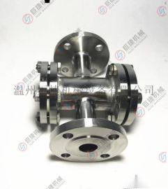 厂家直销不锈钢四通法兰视镜 视镜 管道四通视镜