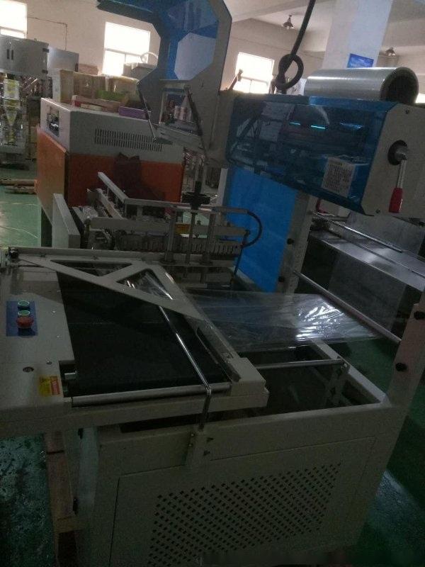 香水外包裝盒收縮機、全自動封切收縮一體機