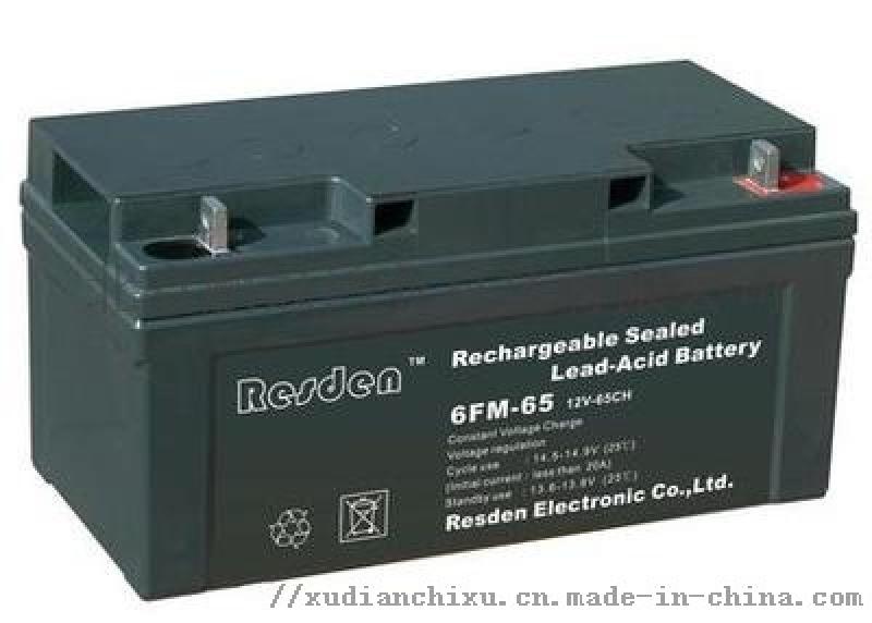 原装雷斯顿蓄电池6FM-65 免维护蓄电池