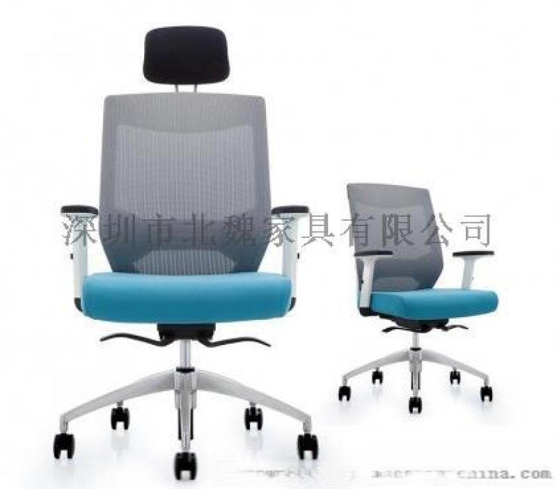 深圳转椅,人体工学职员椅,时尚升降网布椅
