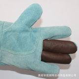 真皮 耐高溫耐磨損 勞保焊接專用手套 短款隔熱手套