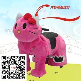深圳大憨熊毛绒儿童电动玩具车
