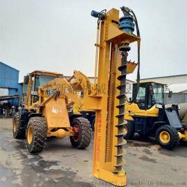 改装打桩机 液压螺旋打桩机 电线杆挖坑机 价格合理