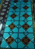 艺术异形多色组合镜 拼镜玻璃背景墙 蓝茶银镜贴片