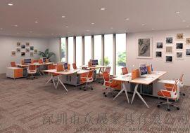 職員辦公桌批發 辦公桌椅定製 深圳辦公傢俱廠