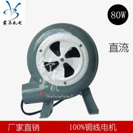 直流鼓风机 厂家直销 220V 炉灶80w 家用 烧烤助燃 小型鼓风机