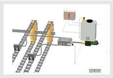 铝锭机链条润滑系统 进口高温链条润滑装置 链条油气润滑