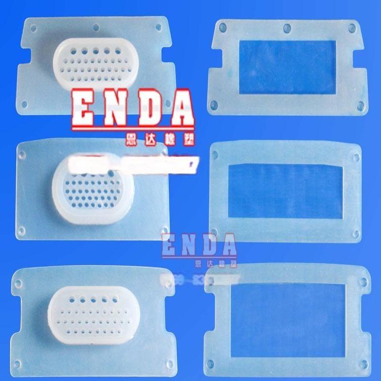 白色透明硅胶密封垫片 圆形带中孔黑色橡胶垫片 水管接口防水硅胶垫